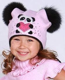 шапочка для девочки 1-3 лет