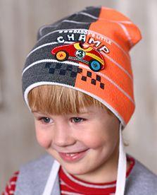 шапка для мальчиков 1-3 лет