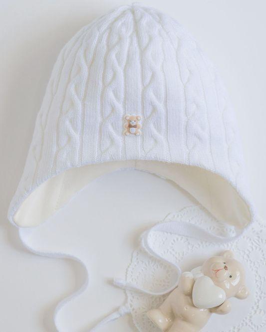 Фото – зимняя шапка для маленьких мальчиков «Максим» Dan&Dani