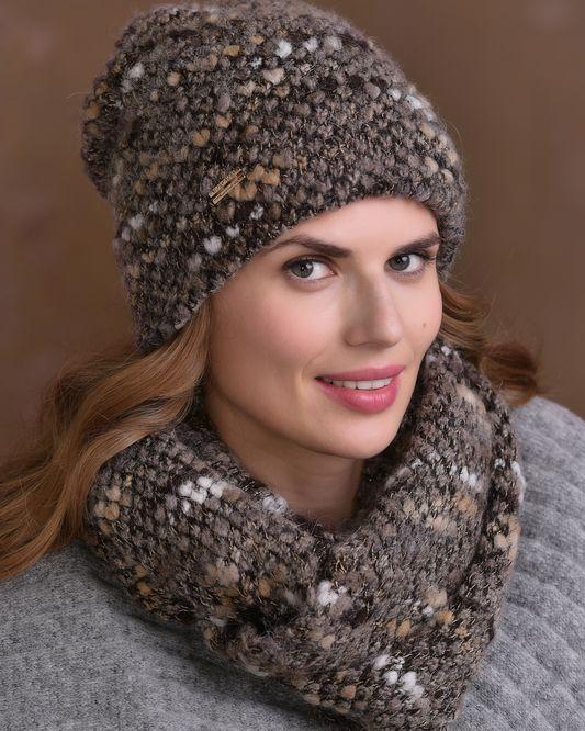 модные вязаные женские шапки 2018 2019 осень зима