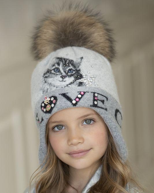 модные детские вязаные шапки на осень и зиму 2018 2019 тренды и